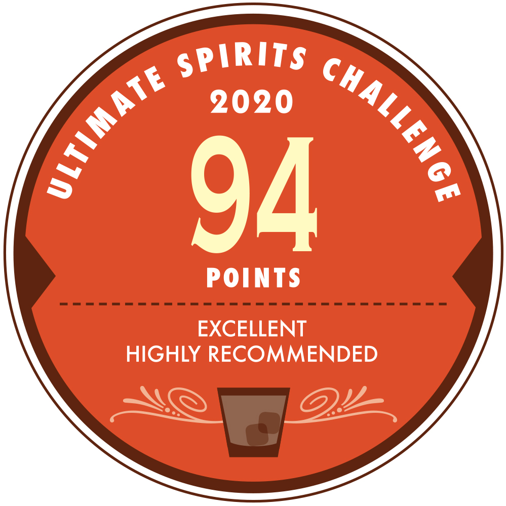 Ultimate Spirits Challenge 2020, 94 Points