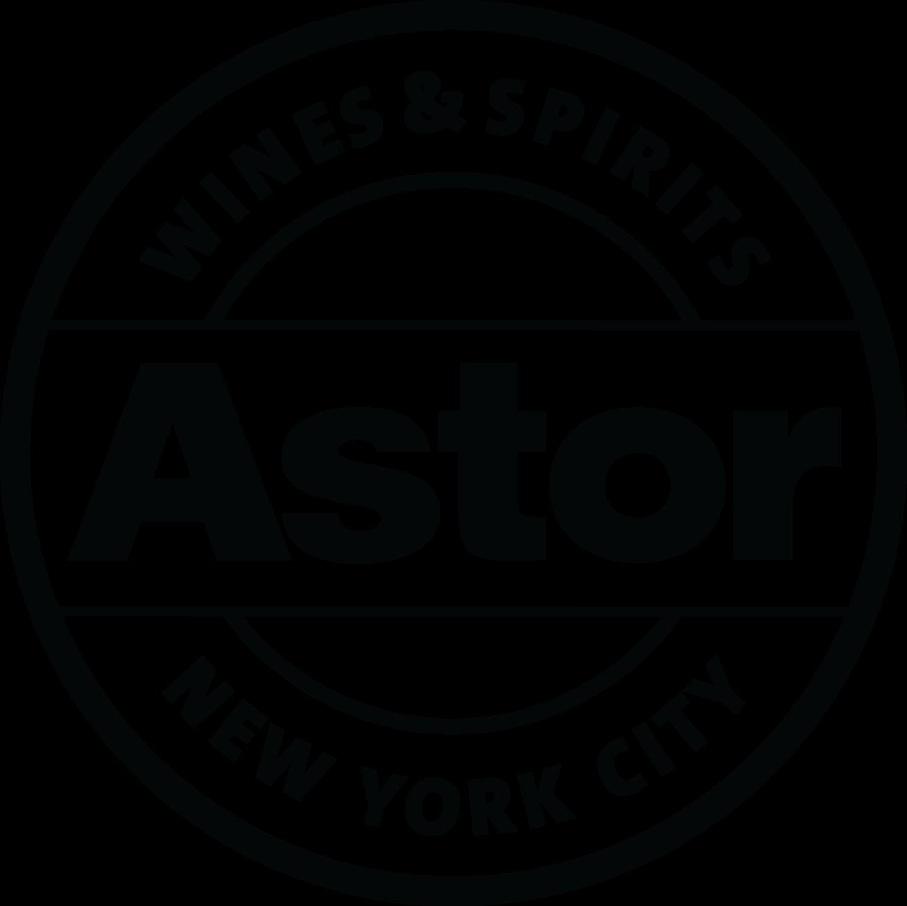 Astor Wines_logo_outline_black